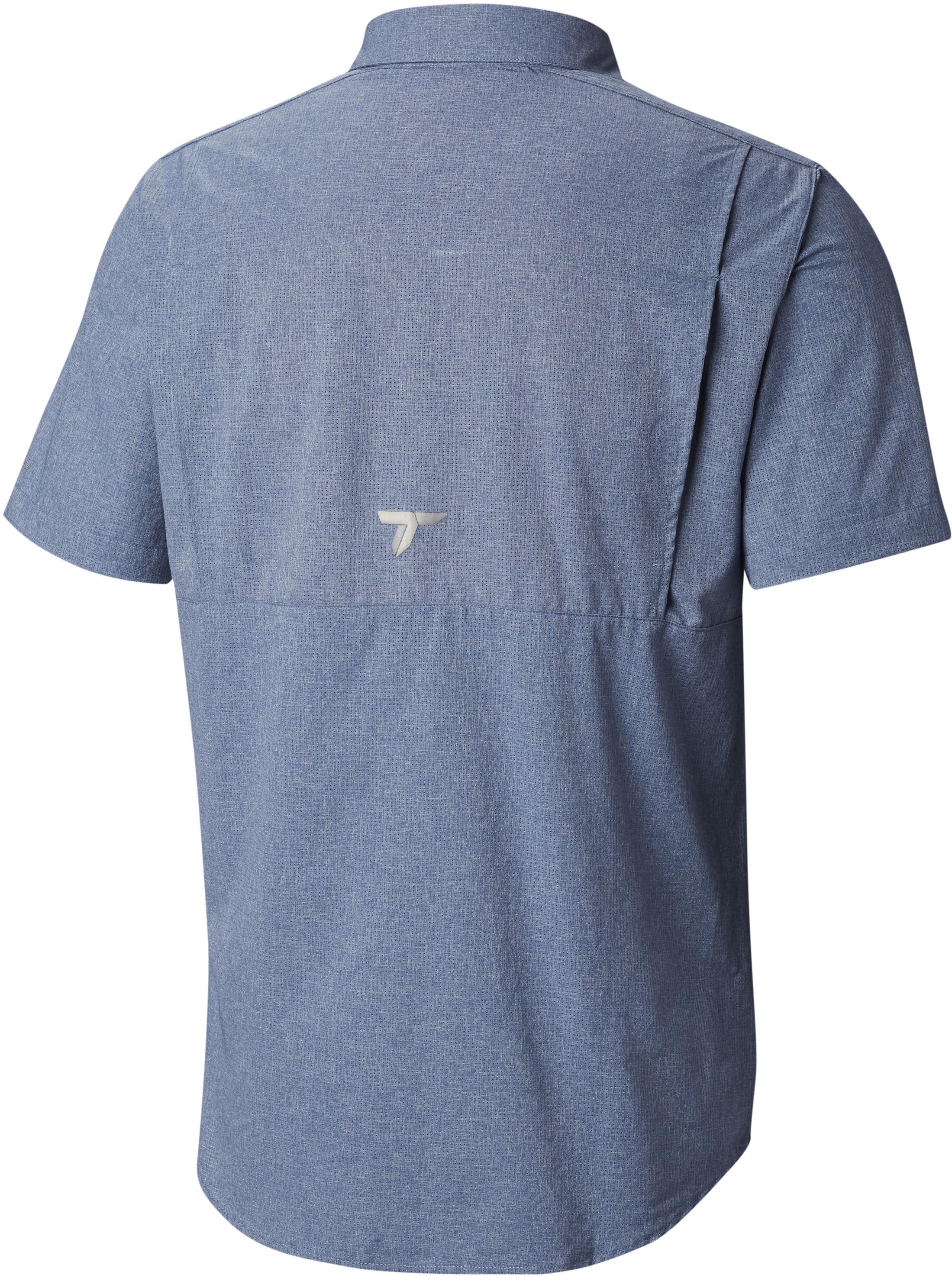6e05b69e7a3 Columbia Irico Short Sleeve Shirt Men Mountain Heather | campz.de